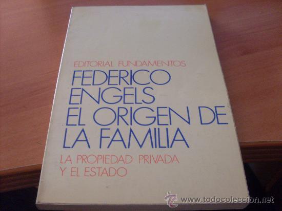 EL ORIGEN DE LA FAMILIA (FEDERICO ENGELS) (LE5) (Libros de Segunda Mano - Pensamiento - Sociología)