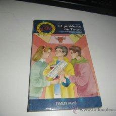 Libros de segunda mano: EL PROBLEMA DE TAURO LYNN J. NOCHOLS TIMUN MAS BAL-50. Lote 36527585