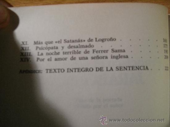 Libros de segunda mano: JARABO 1958. Vida y muerte de un famoso criminal español - F Pérez Abellan - Foto 6 - 36961765