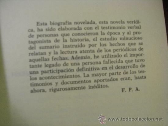 Libros de segunda mano: JARABO 1958. Vida y muerte de un famoso criminal español - F Pérez Abellan - Foto 7 - 36961765