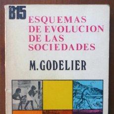 Libros de segunda mano: ESQUEMAS DE EVOLUCIÓN DE LAS SOCIEDADES. GODELIER. Lote 38625233