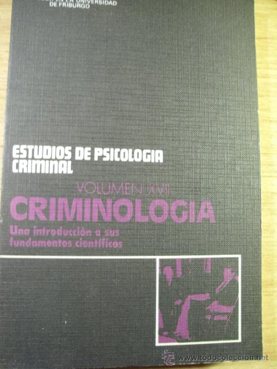 criminologia - una introduccion a sus fundament - Comprar