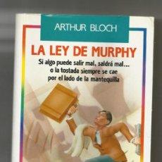 Second hand books - LA LEY DE MURPHY/ARTHUR BLOCH 2ª EDICION 1992 - 39245247