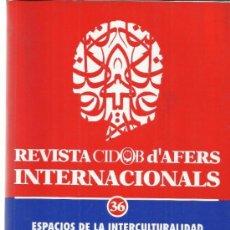 Libros de segunda mano: ESPACIOS DE LA INTERCULTURALIDAD. MIGUEL RODRIGO ALSINA. YOLANDA ONGHENA. COMETA S.A. ZARAGOZA. 1997. Lote 39295815