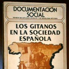 Libros de segunda mano: LOS GITANOS EN LA SOCIEDAD ESPAÑOLA POR FRANCISCO SALINAS Y OTROS, DOCUMENTACIÓN SOCIAL MADRID 1980. Lote 39406888