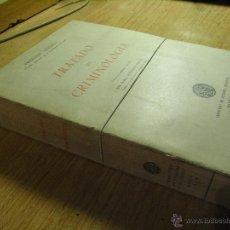 Libros de segunda mano: TRATADO DE CRIMINOLOGIA - ERNESTO SEELIG. Lote 39565442