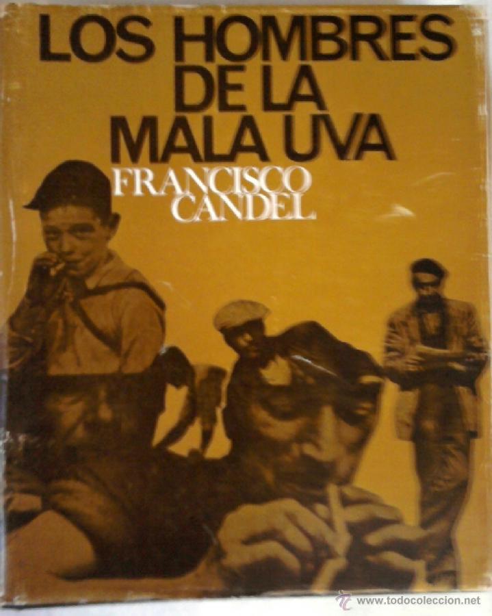 Libros de segunda mano: LIBRO -LOS HOMBRES DE LA MALA UVA- FRANCESC-FRANCISCO CANDEL, DEDICADO, AÑO 1968,VECINO ZONA FRANCA - Foto 2 - 39783154