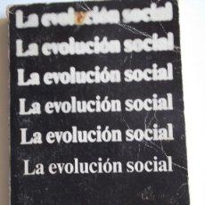 Livros em segunda mão: LA EVOLUCIÓN SOCIAL POR V. GORDIN CHILDE. . Lote 40156122
