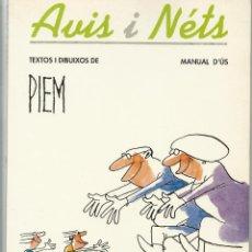 Libros de segunda mano: AVIS I NETS. Lote 41017645
