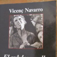 Libros de segunda mano: EL SUBDESARROLLO SOCIAL DE ESPAÑA DE VICENÇ NAVARRO(ANAGRAMA). Lote 41325436