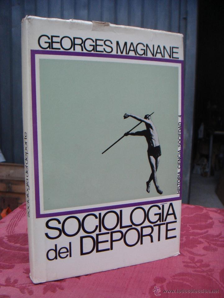 SOCIOLOGIA DEL DEPORTE. GEORGES MAGNANE (Libros de Segunda Mano - Pensamiento - Sociología)