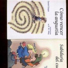 Libros de segunda mano: COMO VENCER LA ANGUSTIA - SABIDURIA DEL CUERPO - LOS HOMBRES TAMBIEN LLORAN (2000'S). Lote 42468393