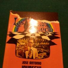 Libros de segunda mano: LAS REGLAS DEL JUEGO (LAS TRIBUS) LIBRO DE JOSÉ ANTONIO JÁUREGUI - ESPASA-CALPE 1977 - 398 PAG.. Lote 42557169
