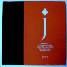 Libros de segunda mano: LIBRO+DVD+COMPACT DISC DIGITAL AUDIO, PREMIO INTERNACIONAL JOVELLANOS RESISTENCIA Y LIBERTAD 2010. Lote 42958859