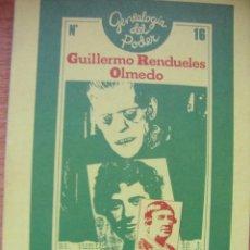 Libros de segunda mano: EL MANUSCRITO ENCONTRADO EN CIEMPOZUELOS - GUILLERMO RENDUELES. Lote 43043128