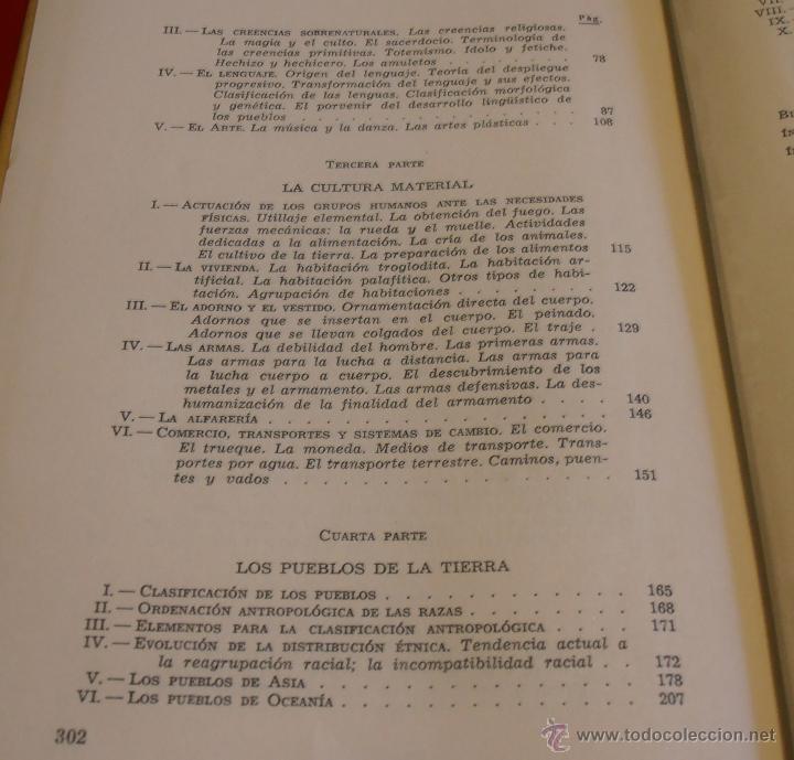Libros de segunda mano: LOS PUEBLOS DE LA TIERRA, POR J. DE C. SERRA RAFOLS - Foto 7 - 43391900