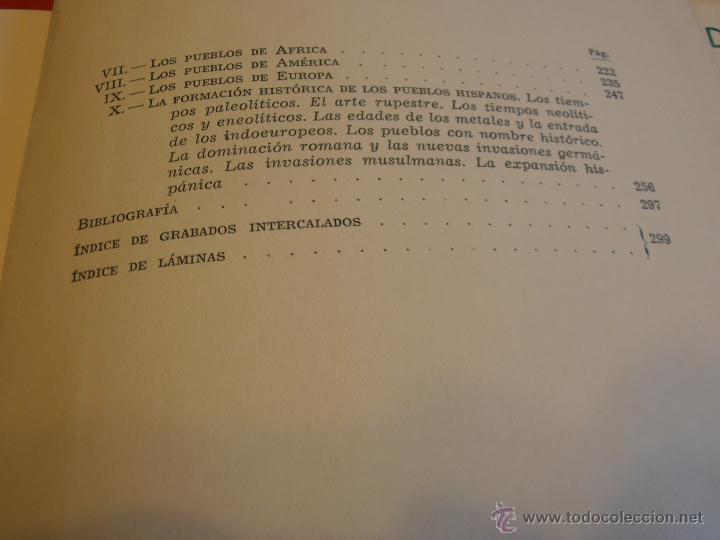 Libros de segunda mano: LOS PUEBLOS DE LA TIERRA, POR J. DE C. SERRA RAFOLS - Foto 8 - 43391900