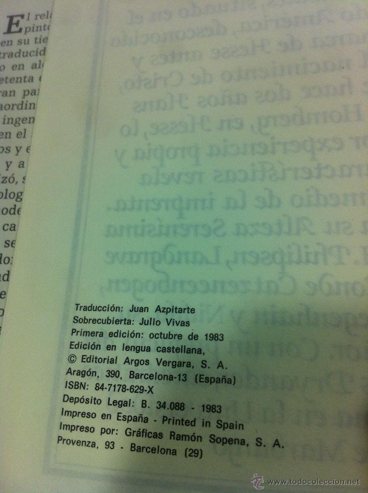Libros de segunda mano: VERDADERA HISTORIA Y DESCRIPCION DE UN PAIS DE SALVAJES DESNUDOS - HANS STADEN - ARGOS VERGARA -1983 - Foto 5 - 43494182