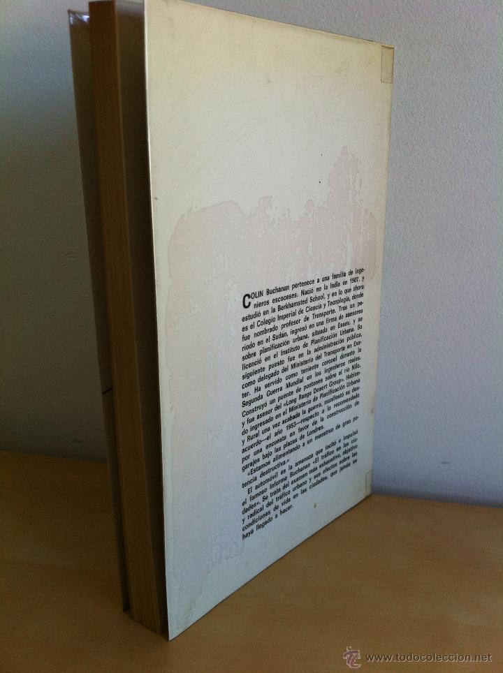Libros de segunda mano: EL TRÁFICO EN LAS CIUDADES. COLIN D.BUCHANAN. EDITORIAL TECNOS. COLECCIÓN CIENCIAS SOCIALES. - Foto 2 - 53617329