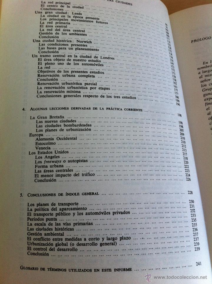 Libros de segunda mano: EL TRÁFICO EN LAS CIUDADES. COLIN D.BUCHANAN. EDITORIAL TECNOS. COLECCIÓN CIENCIAS SOCIALES. - Foto 11 - 53617329