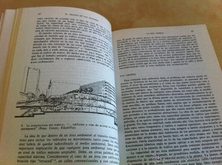 Libros de segunda mano: EL TRÁFICO EN LAS CIUDADES. COLIN D.BUCHANAN. EDITORIAL TECNOS. COLECCIÓN CIENCIAS SOCIALES. - Foto 13 - 53617329