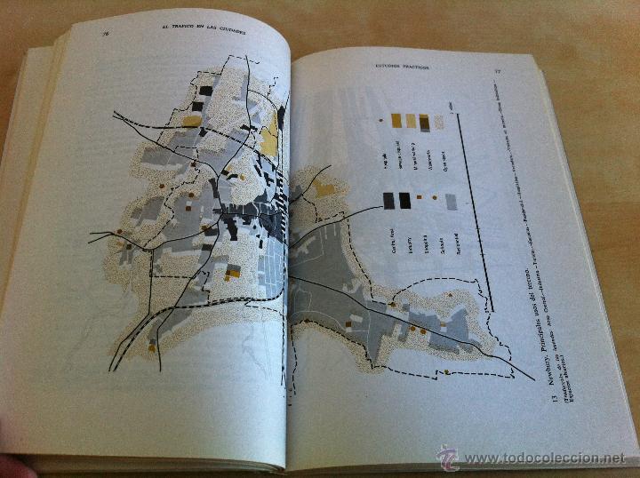 Libros de segunda mano: EL TRÁFICO EN LAS CIUDADES. COLIN D.BUCHANAN. EDITORIAL TECNOS. COLECCIÓN CIENCIAS SOCIALES. - Foto 15 - 53617329