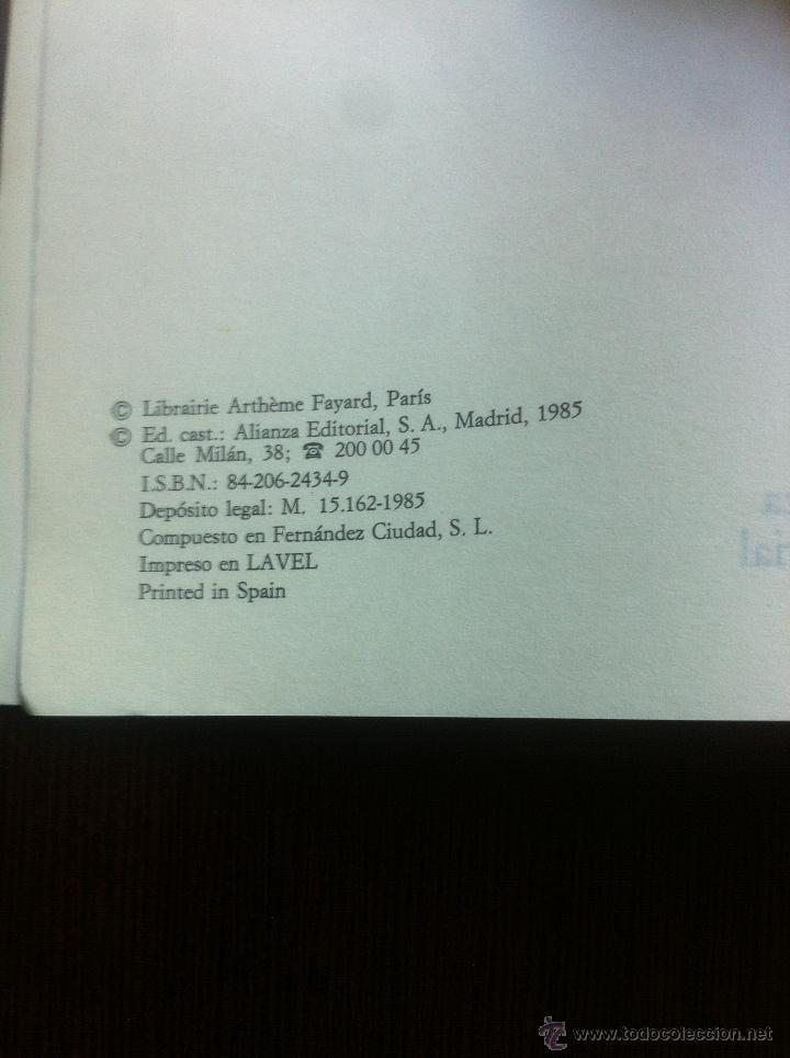 Libros de segunda mano: EL PENSAMIENTO EUROPEO EN EL SIGLO XVIII - PAUL HAZARD - ALIANZA UNIVERSIDAD - MADRID - 1985 - - Foto 4 - 43721269