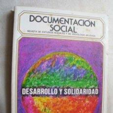 Second hand books - DOCUMENTACIÓN SOCIAL. Revista de estudios sociales y de sociología aplicada. Nº 89 DESARROLLO Y SOLI - 43917569
