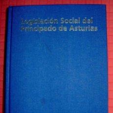 Libros de segunda mano: LEGISLACION SOCIAL PRINCIPADO DE ASTURIAS 1981-2006 CONMEMORACION XXV ANIVERSARIO AUTONOMIA+CD. Lote 44063018