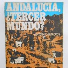 Libros de segunda mano: ANDALUCÍA, ¿TERCER MUNDO?. - BURGOS, ANTONIO. TDK199. Lote 44102241