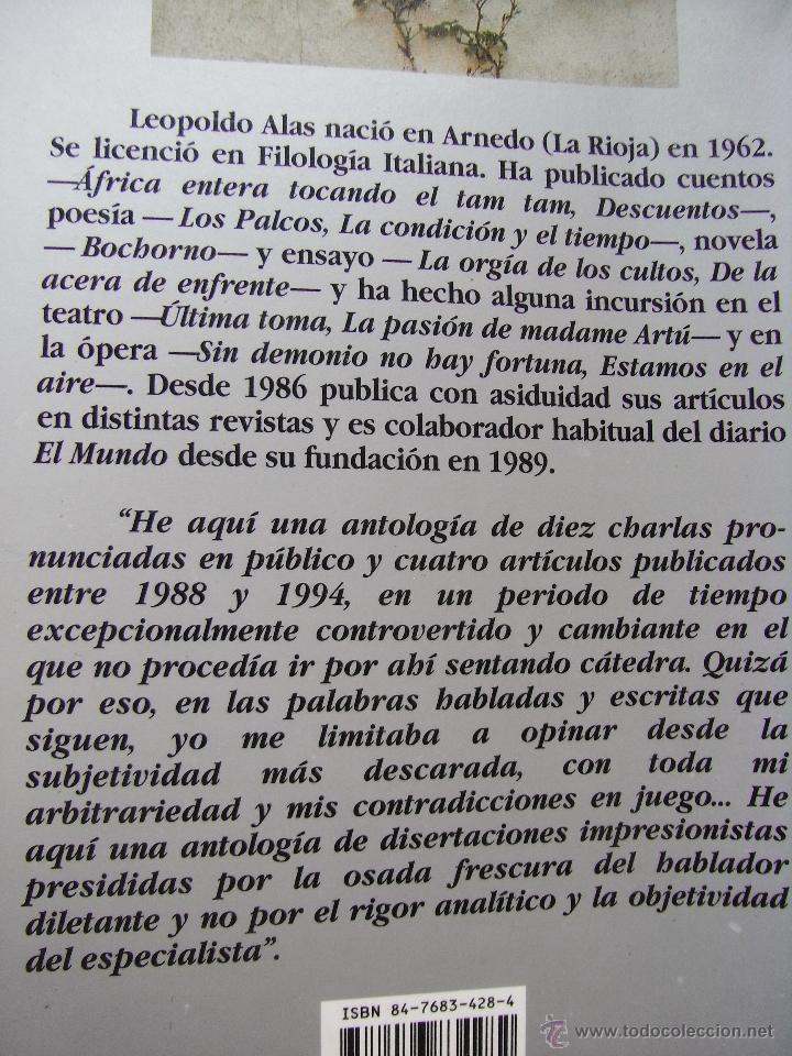 Libros de segunda mano: HABLAR DESDE EL TRAPECIO - LEOPOLDO LEOPOLDO - Foto 4 - 45471164