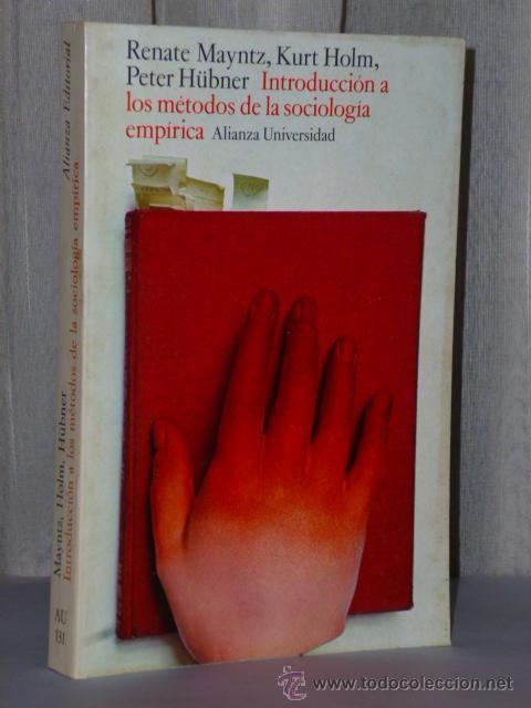 INTRODUCCIÓN A LOS MÉTODOS DE LA SOCIOLOGÍA EMPÍRICA (Libros de Segunda Mano - Pensamiento - Sociología)