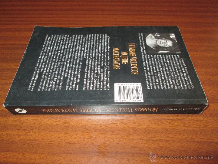Libros de segunda mano: Hombres violentos, mujeres maltratadas.--- Graciela B. Ferreira - Foto 5 - 46619941