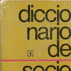 Second hand books - Pratt Fairchild, Henry, Diccionario de Sociología, México, Fondo de Cultura Económica, 1974 - 47046537