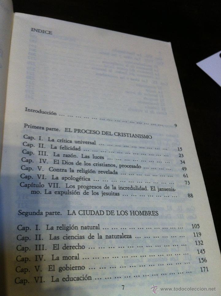 Libros de segunda mano: EL PENSAMIENTO EUROPEO EN EL SIGLO XVIII - PAUL HAZARD - ALIANZA UNIVERSIDAD - MADRID - 1985 - - Foto 6 - 43721269