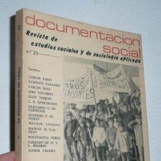 Libros de segunda mano: LA EDUCACIÓN EN CRISIS - REVISTA DE ESTUDIOS SOCIALES Y DE SOCIOLOGÍA APLICADA Nº 23 (1976). Lote 47961361