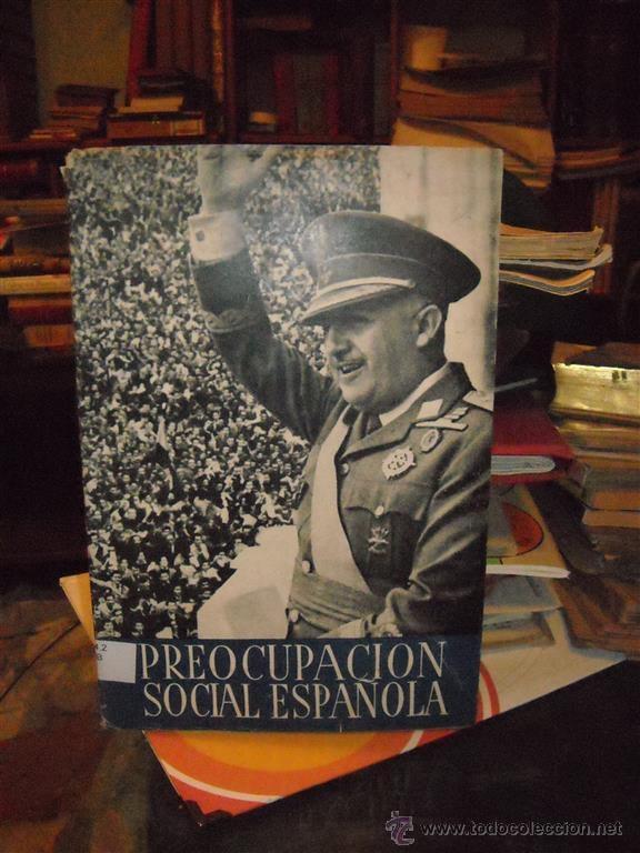 PREOCUPACIÓN SOCIAL ESPAÑOLA MADRID 1946 (Libros de Segunda Mano - Pensamiento - Sociología)