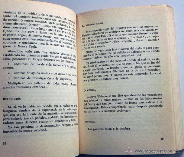 Libros de segunda mano: DIARIO DE CALIFORNIA - EDGAR MORIN - FILOSOFÍA SOCIOLOGÍA PENSAMIENTO - SOCIEDAD COMUNAS ETC - LIBRO - Foto 3 - 48895422