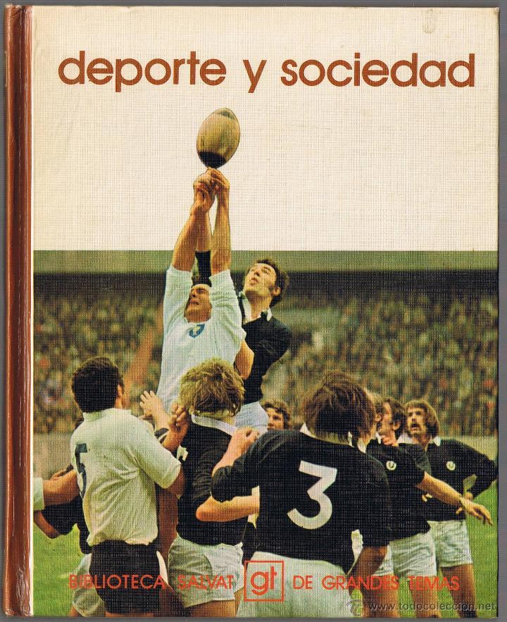 DEPORTE Y SOCIEDAD - 1973 (Libros de Segunda Mano - Pensamiento - Sociología)