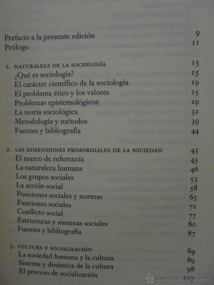 Libros de segunda mano: SOCIOLOGIA. SALVADOR GINER. ED, PENINSULA. - Foto 9 - 50600263