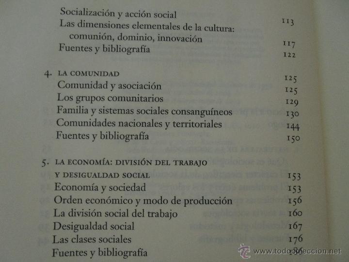 Libros de segunda mano: SOCIOLOGIA. SALVADOR GINER. ED, PENINSULA. - Foto 10 - 50600263