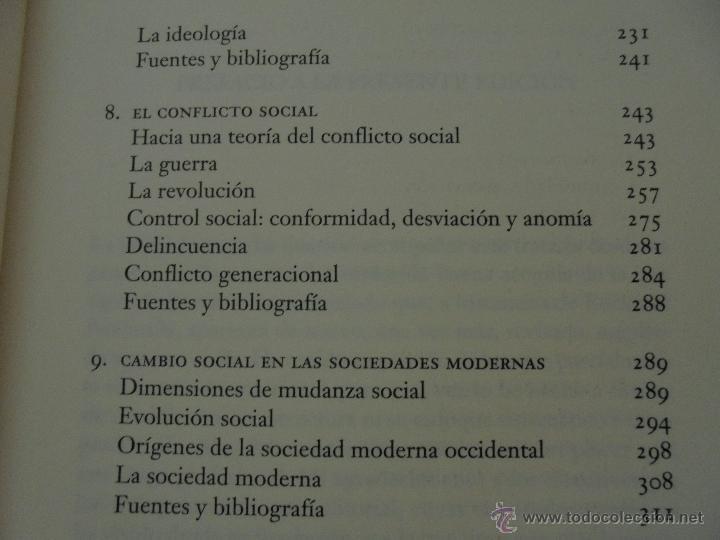 Libros de segunda mano: SOCIOLOGIA. SALVADOR GINER. ED, PENINSULA. - Foto 12 - 50600263