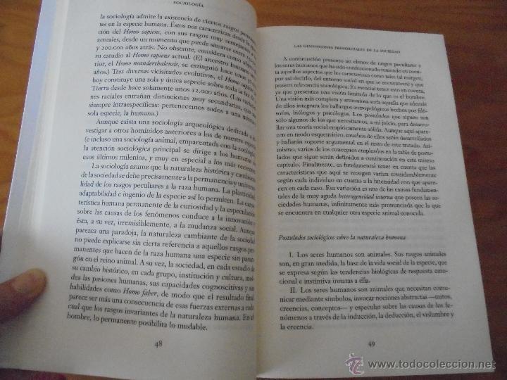 Libros de segunda mano: SOCIOLOGIA. SALVADOR GINER. ED, PENINSULA. - Foto 14 - 50600263