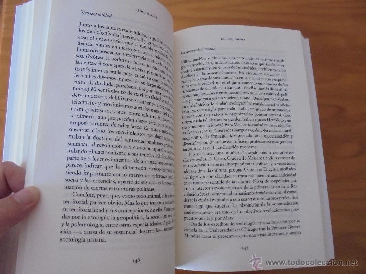 Libros de segunda mano: SOCIOLOGIA. SALVADOR GINER. ED, PENINSULA. - Foto 15 - 50600263