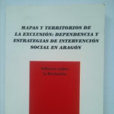 Libros de segunda mano: LIBRO DE CÁRITAS INFORME SOBRE LA EXCLUSIÓN: INTERVENCIÓN SOCIAL ARAGÓN COMO NUEVO PERFECTO ESTADO. Lote 51089634