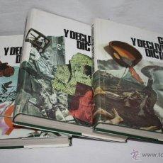 Libros de segunda mano: GENESIS Y DECLIVE DE LAS DICTADURAS, 3 TOMOS ILUSTRADOS, CON SOBRECUBIERTAS, RIALP 1976, LIBROS. Lote 51525000