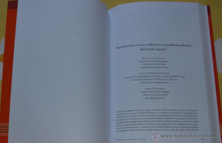 Libros de segunda mano: PERIFERIA.FRONTERAS Y DIÁLOGOS. UNA LECTURA ANTROPOLÓGICA DE LOS RETOS DE LA SOCIEDAD ACTUAL. - Foto 3 - 51888689