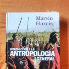 Libros de segunda mano: INTRODUCCION A LA ANTROPOLOGIA GENERAL MARVIN HARRIS (7ª ED.)1997. Lote 52549532