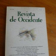 Libros de segunda mano: REVISTA DE OCCIDENTE. AÑO 1981 Nº 9. HUXTABLE,CLAUDIO GUILLEN, GORTARI, SAVATER, ALSINA. 172 PP. Lote 52958724