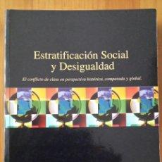 Libros de segunda mano: HAROLD R. KERBO. ESTRATIFICACIÓN SOCIAL Y DESIGUALDAD.. Lote 52993277